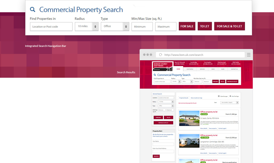 Barker Storey Matthews website property search