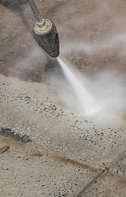 Concrete renovations cleaning image