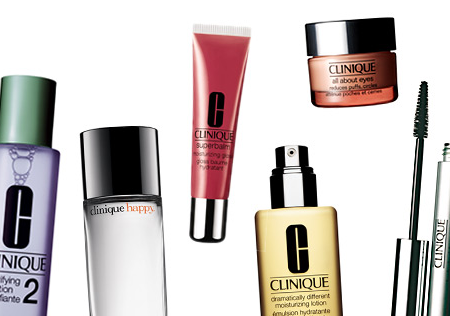 Clinique products graphic