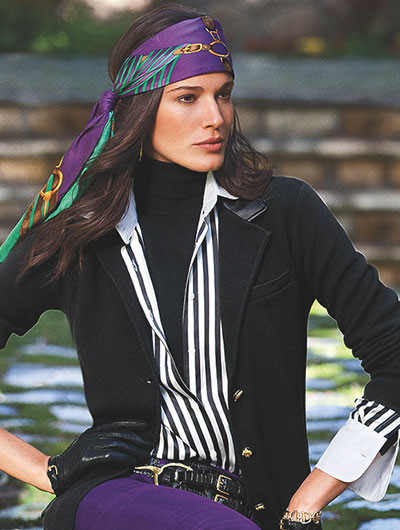 Ralph Lauren woman fashion image