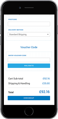 Ecommerce checkout on mobile 6