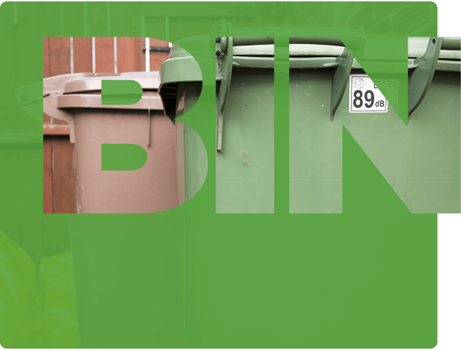 Local Government bin collection screengrab