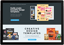 Creative web design templates