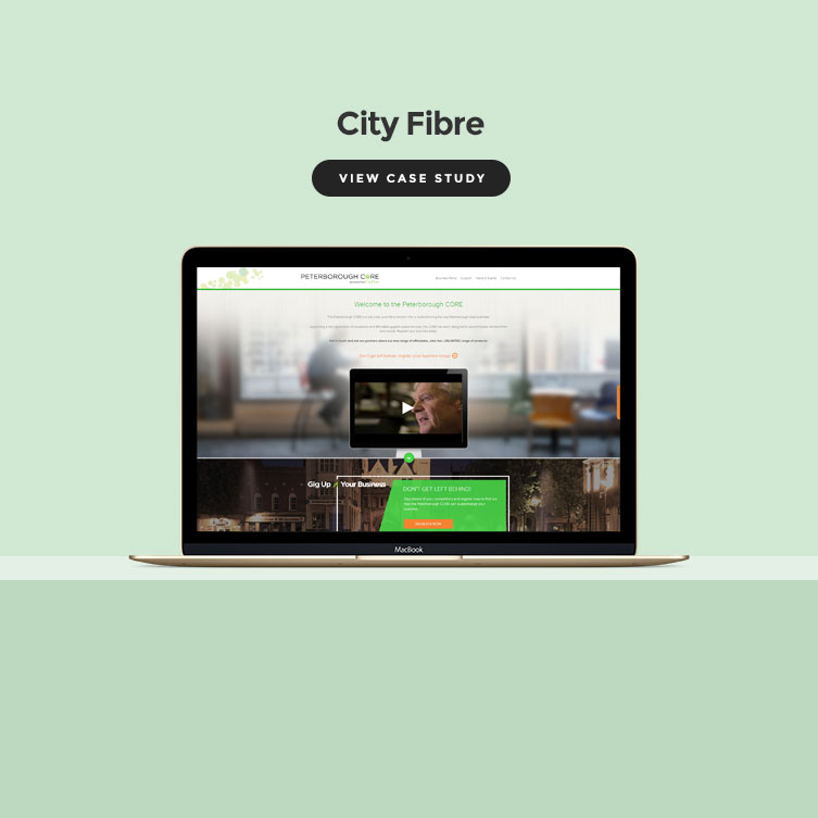 Cityfibre Wordpress screenshot